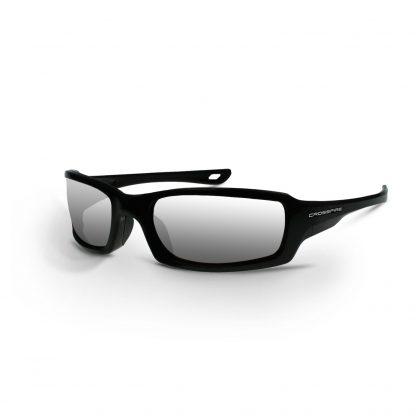 2063 Silver mirror lens, pearl black frame