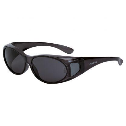 3113 Smoke lens, crystal black frame