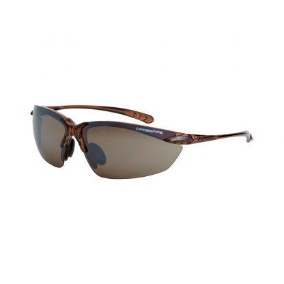 9117 HD brown flash mirror lens, crystal brown frame