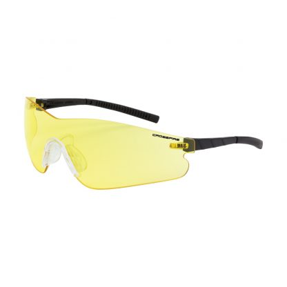 3025 AF Yellow anti-fog lens, black temples