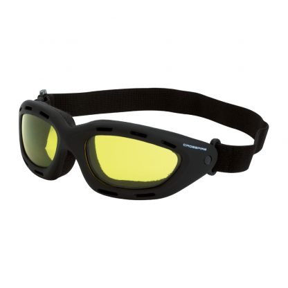 91353 AF Yellow anti-fog lens, black frame
