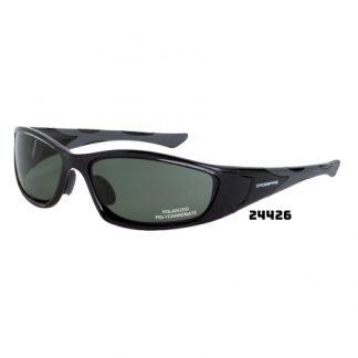 24426 polarized blue/green lens, crystal black frame