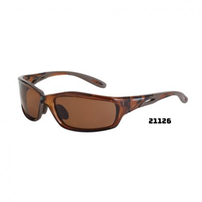 21126 HD brown polarized lens, crystal brown frame