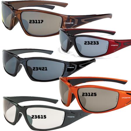 23615 Crossfire RPG Indoor//outdoor lens Pearl Frame Safety Glasses