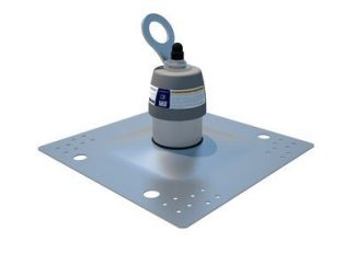 2100139 KIT,ANCHOR,ROOF,1 USERMEMBRANE,405X405H Membrane & Built-Up Roof Top Anchor, Membrane Roofs