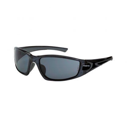 23421 Smoke lens, crystal black frame