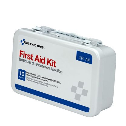 10-unit-first-aid-kit-metal-case - 240-AN FirstAidOnly