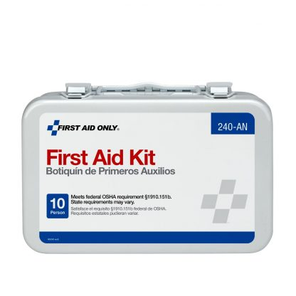 10-unit-first-aid-kit-metal-case - 240-AN FirstAidOnly 3