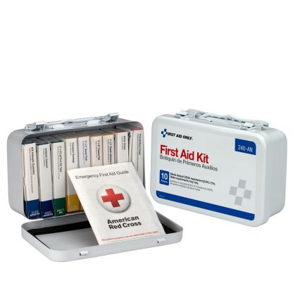 10-unit-first-aid-kit-metal-case - 240-AN FirstAidOnly 6
