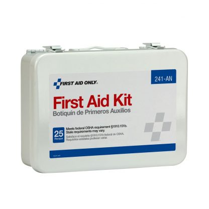 FIRSTAIDONLY - 241-AN - 25 Person 16 Unit First Aid Kit, Metal Case 6