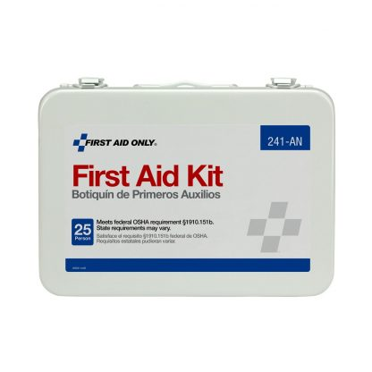 FIRSTAIDONLY - 241-AN - 25 Person 16 Unit First Aid Kit, Metal Case 2