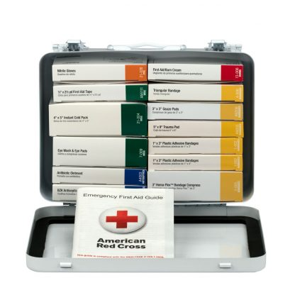 FIRSTAIDONLY - 241-AN - 25 Person 16 Unit First Aid Kit, Metal Case 4