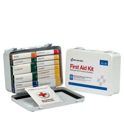 FIRSTAIDONLY - 241-AN - 25 Person 16 Unit First Aid Kit, Metal Case 5