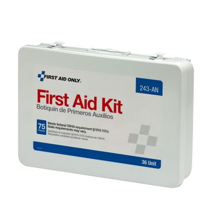 75 Person Unitized Metal First Aid Kit, OSHA Compliant - 243-AN FirstAidOnly 6