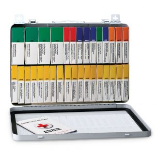 75 Person Unitized Metal First Aid Kit, OSHA Compliant - 243-AN FirstAidOnly