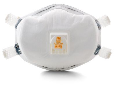 3M™ Particulate Respirator 8233, N100 20 EA/Case Part Number 54143, 3M Product Number 8233, 3M ID 70070709012, UPC 50051138541434