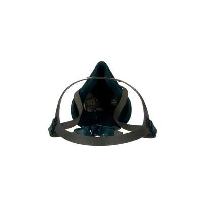 3M™ Rugged Comfort Half Facepiece Reusable Respirator 6502/49489, Medium, 10 EA/Case, rear