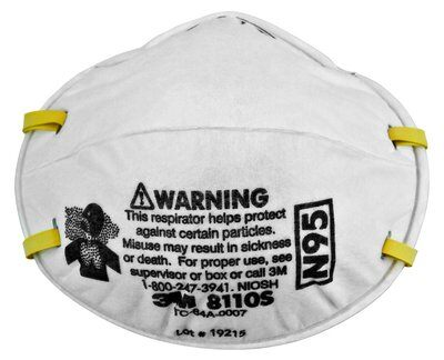 3m - Respirators Disposable amp; Particulates Dust N95