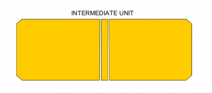 PALLET RACK SAFETY GATE Intermediate unit,