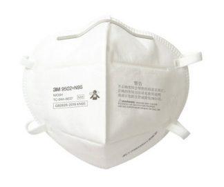 3M 9502 plus n95 fold flat respirator