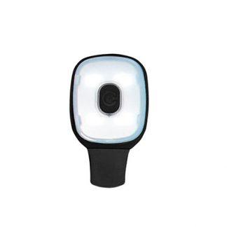 HV12 - USB Rechargeable Light Clip Black