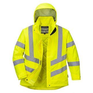 LW74 - Women's Hi-Vis Winter Jacket Yellow