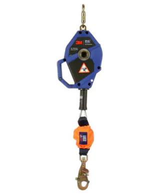 3M DBI-SALA Smart Lock Leading Edge Self-Retracting Lifeline 3503802, Galvanized Cable, Blue, 20 ft. (6m)