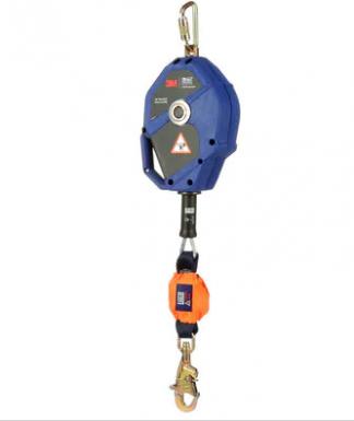 3M™ DBI-SALA® Smart Lock Leading Edge Self-Retracting Lifeline 3503822, Galvanized Cable, Blue, 30 ft. (10m)