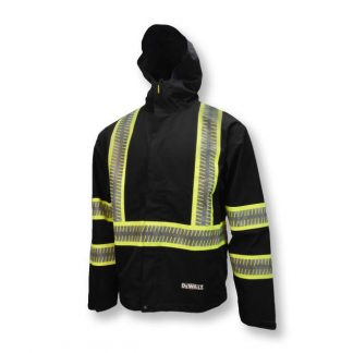 DEWALT DRW11 Waterproof Lightweight Packable Raincoat