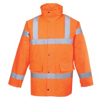 URT30 - Hi-Vis Traffic Jacket Orange