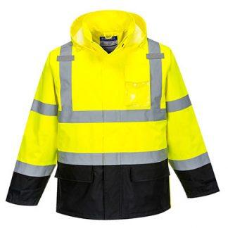 US366 - Hi-Vis Contrast Rain Jacket
