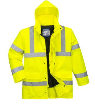 US460 - Hi-Vis Traffic Jacket Yellow